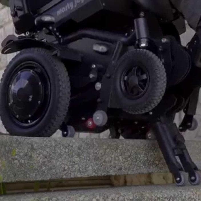 montascale mobile antano- modello marty joy - dettaglio ruote