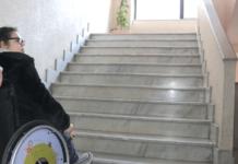 barriere architettoniche in una scuola a vibo valentia